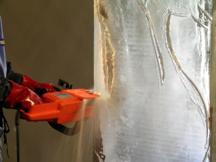 ice sawn