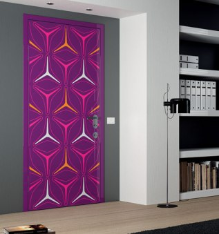 Fuschia-Orange-Door-designs